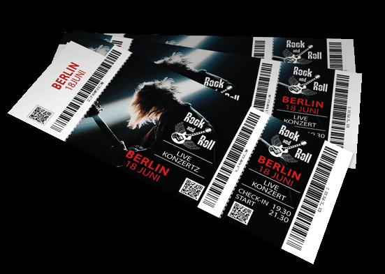 Codierte Eintrittskarten