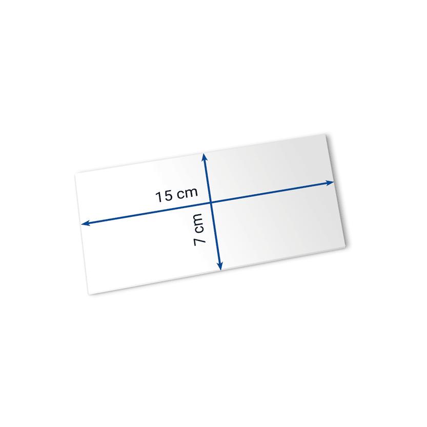 Eintrittskarten 15x7 cm