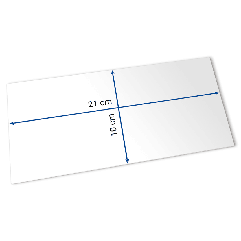 Eintrittskarten 21x10 cm