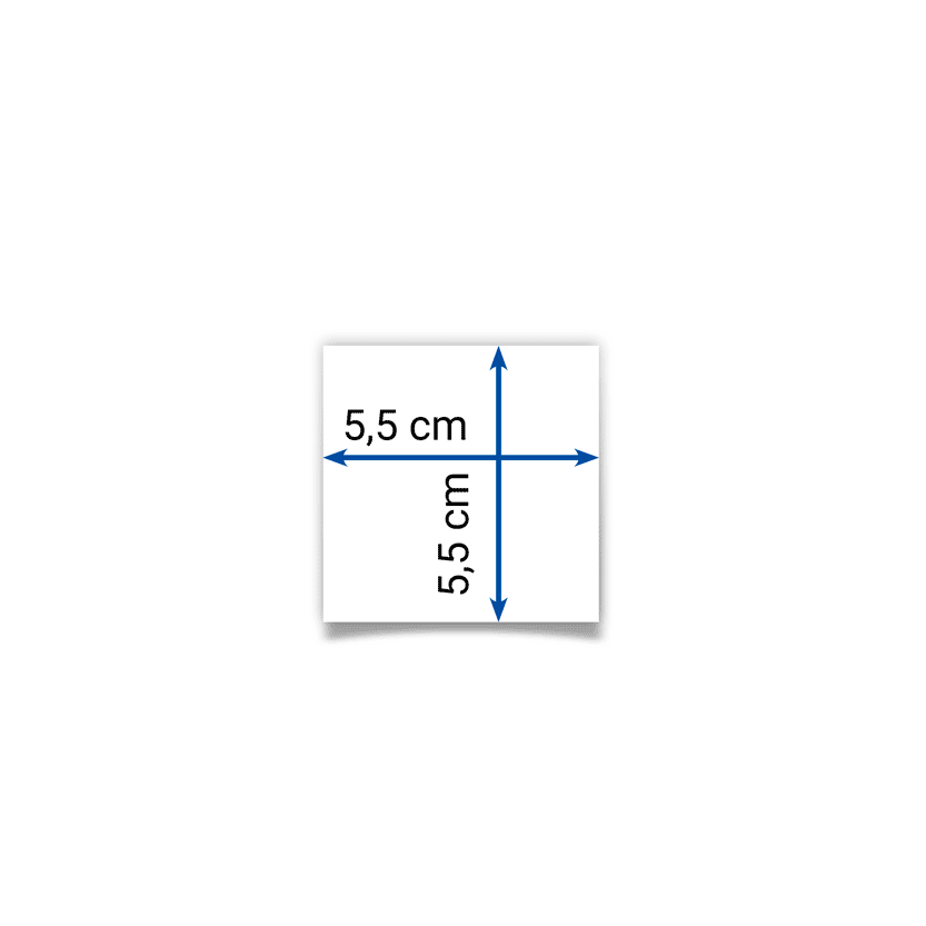 card 5,5x5,5 cm