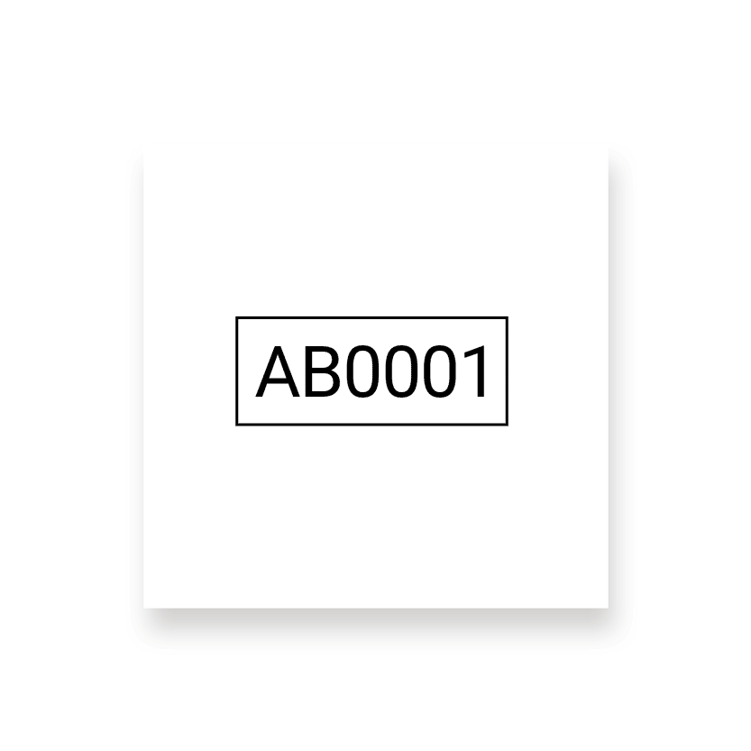 numérotation alphanumérique