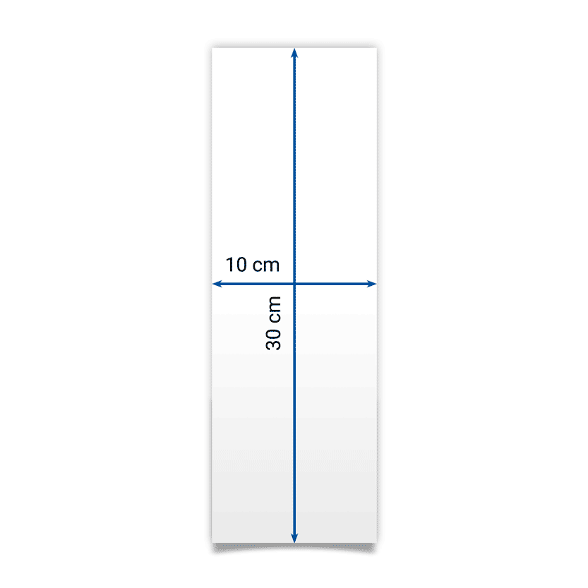 flyer 10x30 cm