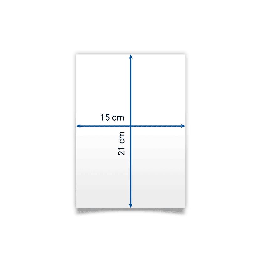 flyer A5 15x21 cm