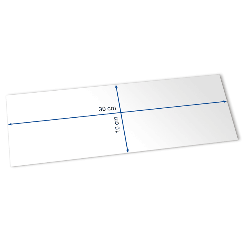 billets 30x10 cm