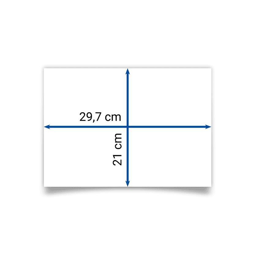 dépliant A4 29,7x21 cm