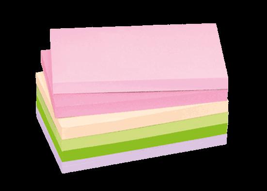 Biglietti con matrice carta colorata