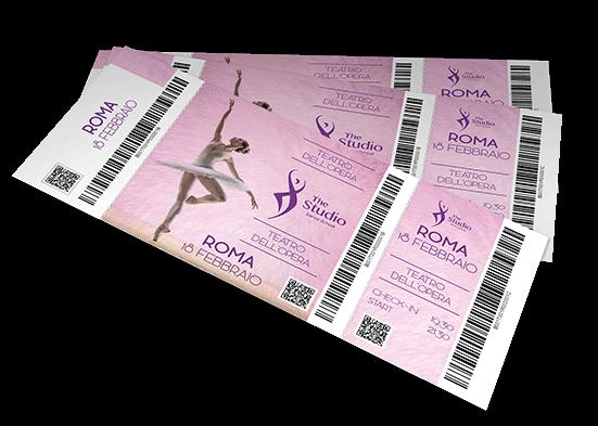 Biglietti con matrice codificati