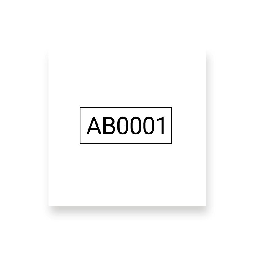 Numerazione alfanumerica
