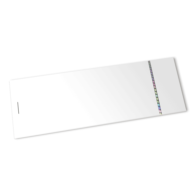 strip olografica 3 mm