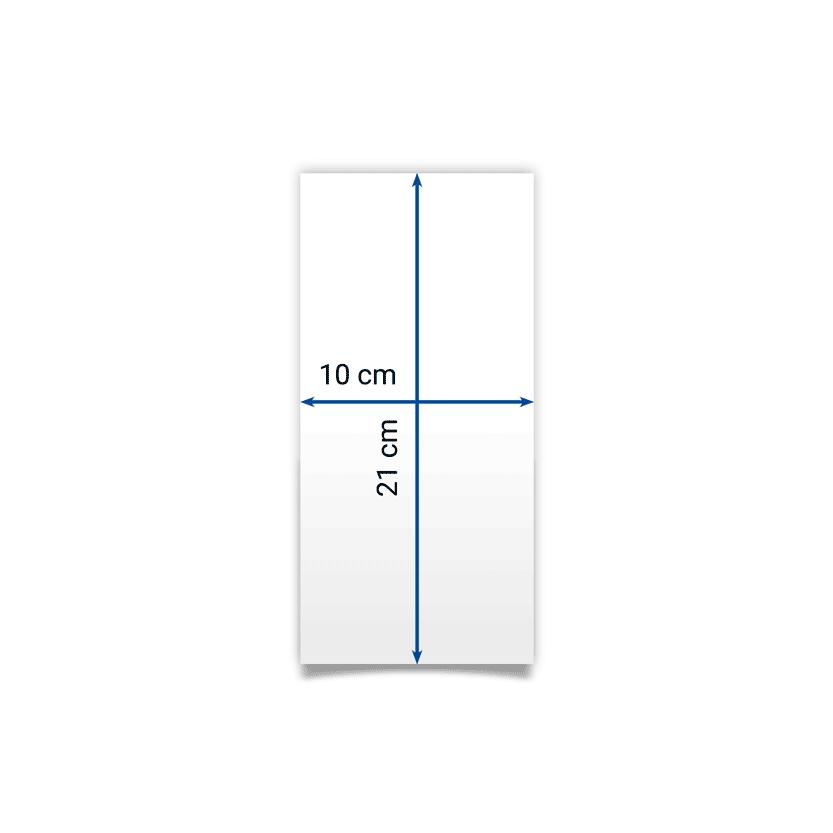 flyer 10x21 cm