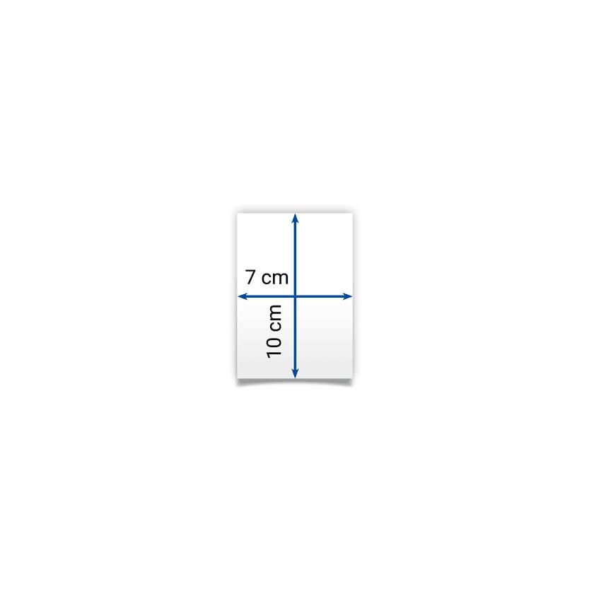 flyer 7x10 cm