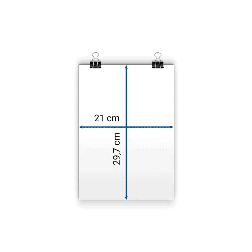 locandina A4 21x29,7 cm
