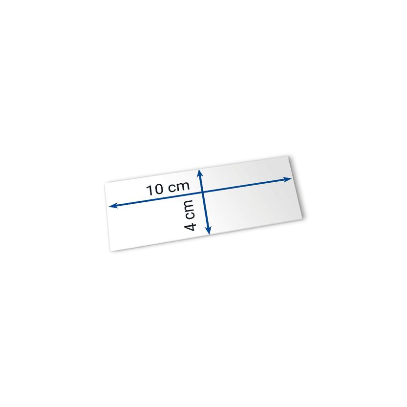 biglietti 10x4 cm